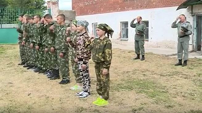 В Ельце открылся летний казачий лагерь