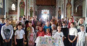 Начало учебного года в воскресной школе Казанского собораг. Лебедяни
