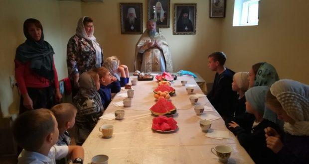 В воскресной школе Измалково начался учебный год