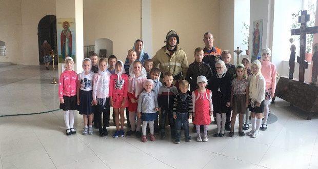 МЧС в воскресной школе Казаков