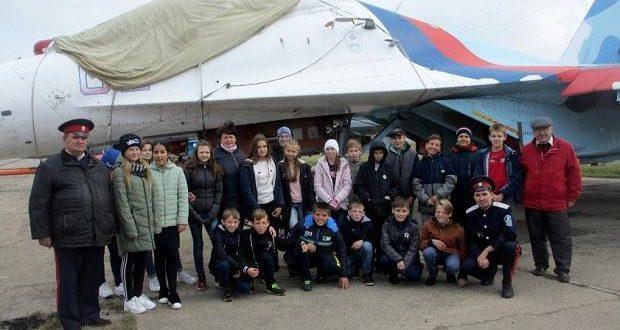 Посещение военного аэродрома Липецк-2