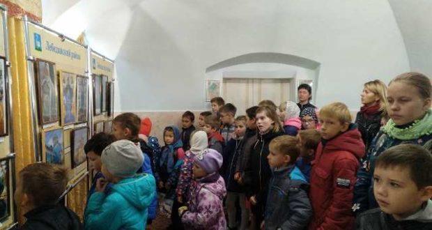Необычный урок в воскресной школе Казанского собора г. Лебедянь