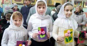 День матери в храме Рождества Пресвятой Богородицы города Ельца