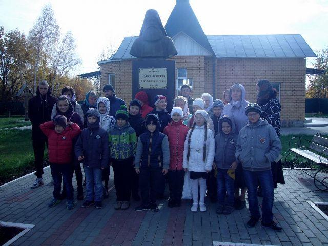 Паломническая поездка по святым местам Лебедянского района воскресной школы храма Успения Пресвятой Богородицы