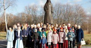 Поездка воскресных школ Чаплыгинского благочиния в с. Шовское