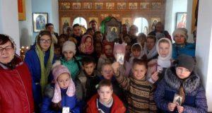 Дети воскресных школ Лев-Толстовского благочиния посетили с. Шовское