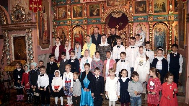 День матери в cтановлянской воскресной школе