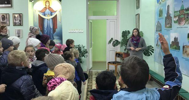 В музее православия п. Лев Толстой детям провели лекцию