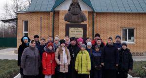 Воспитанники воскресной школы Введенского храма с. Становое посетили с. Шовское