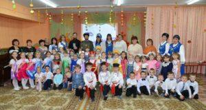 Праздник «Родина. Россия. Православие» в лебедянском детском садике