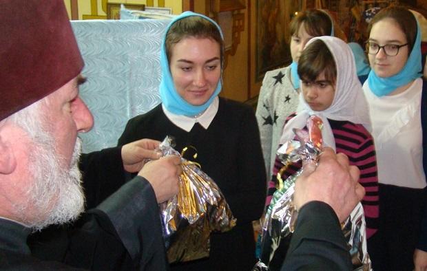 В Троицком соборе Чаплыгина прошел Рождественский концерт воскресной школы «Сретение»