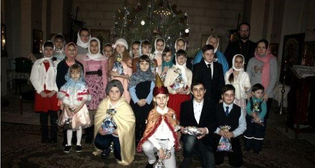 Рождественский праздник в воскресной школе «Глагол» Никольского (Зареченского) храма Чаплыгина