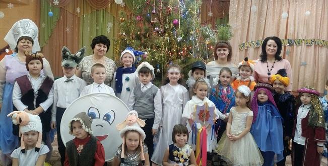 Лебедянские дети прославляют Рождество Христово