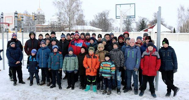 """В первый день нового года в Чаплыгине прошла акция """"Муромская дорожка"""""""