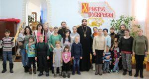 Подопечные ЦЗМ «Колыбель» Чаплыгинского благочиния встретились с духовенством «За чашкой чая»