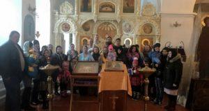 Крещение детей в подопечных семьях ЦЗМ «Колыбели» Чаплыгинского благочиния