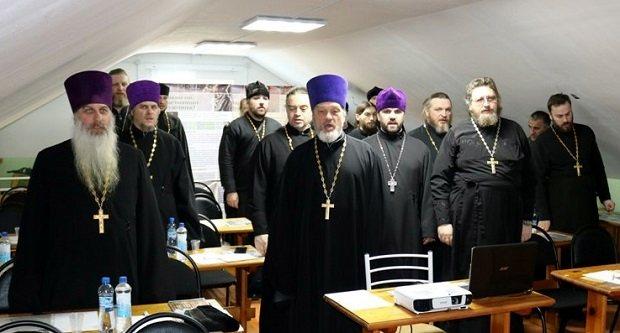 Собрание помощников благочинных ответственных за трезвенную работу в благочиниях Липецкой и Елецкой епархиях