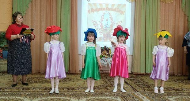 В детскиx садах Лебедяни прошли пасхальные утренники