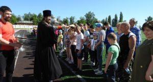 Спортивные соревнования среди ВШ Чаплыгинского благочиния