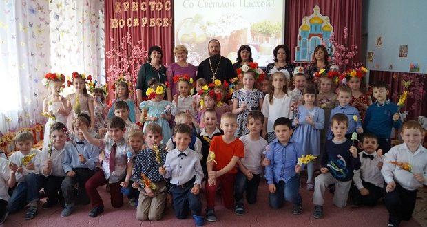 Пасхальные концерты в детских садах с. Становое