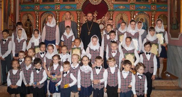 В воскресной школе Введенского храма села Становое окончился учебный год