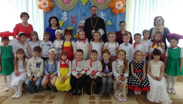 Пасхальные праздники в детских садах Чаплыгина