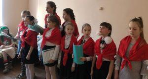 Пасхальный детский концерт в Измалковской районной больнице