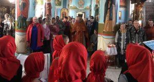 Пасхальный концерт воскресной школы храма Владимирской иконы Божией Матери села Измалково.