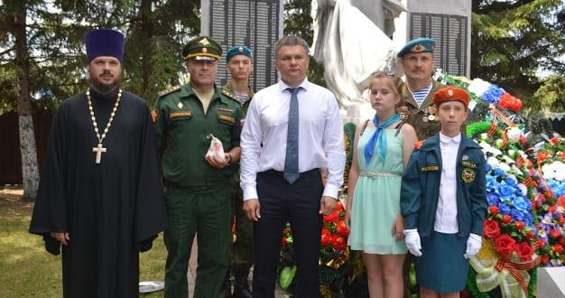 День памяти и скорби и Всероссийская военно-патриотическая акция «Горсть земли» в Становом
