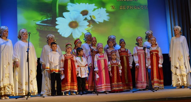 В День семьи, любви и верности в Чаплыгине состоялся концерт, посвященный празднику