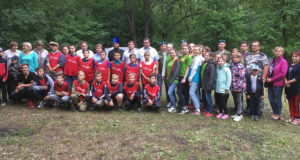 В посёлке Солидарность открылся оборонно-спортивный палаточный лагерь