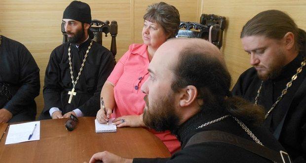 Состоялось заседание Епархиального отдела религиозного образования и катехизации перед началом учебного года