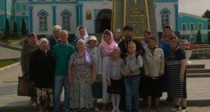 Делегация от елецкого дома-интерната посетила монастыри г. Задонска