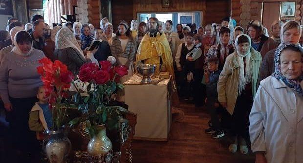 Начало учебного года в Троицком храме г. Ельца