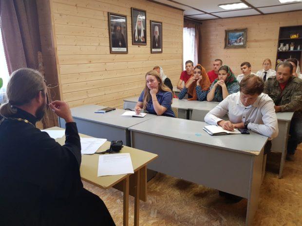Заседание Молодежного совета Елецкой епархии