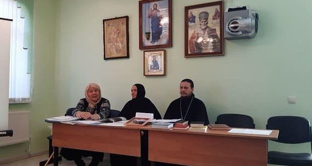В воскресной школе Знаменского монастыря прошел первый педагогический совет