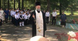 Панихида по воину Димитрию в с. Сухой Семенёк