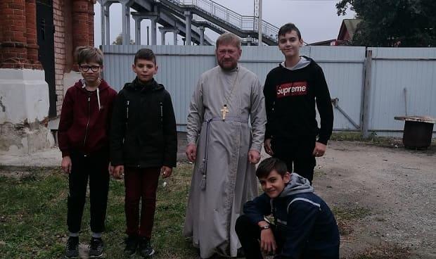 Воспитанники воскресных школ Лев-Толстовского благочиния занялись активным отдыхом