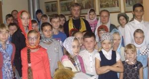 Начало учебного года в воскресной школе Казанского собора Лебедяни