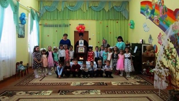 В детском саду «Теремок» г. Чаплыгина прошел праздник, посвященный Божией Матери