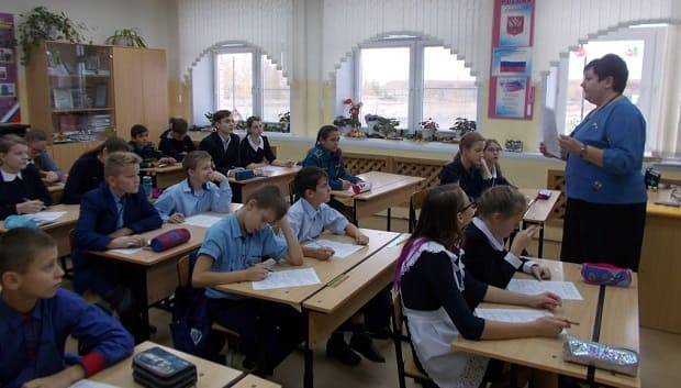 В п. Лев Толстой состоялся школьный тур олимпиады по ОПК
