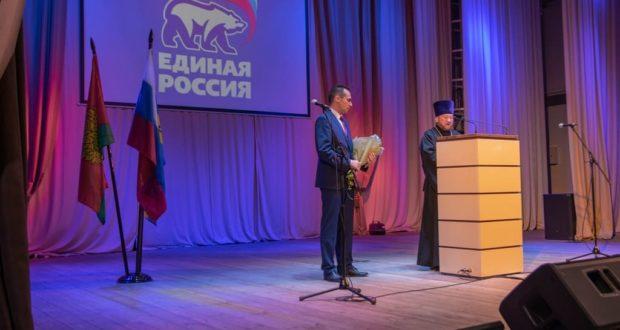 В п. Лев Толстой состоялась инаугурация главы района