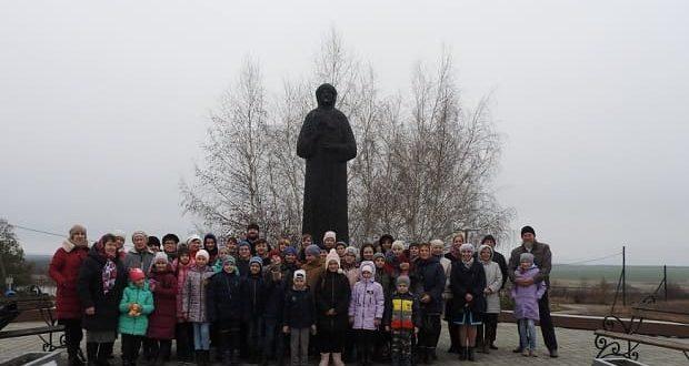Две воскресные школы Чаплыгинского благочиния побывали на Куликовом поле и в с. Себино Тульской области
