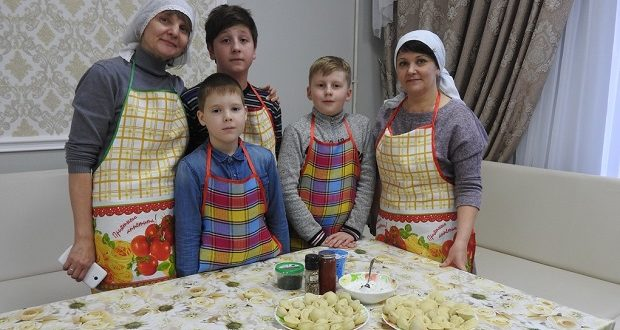 В воскресной школе Вознесенского храма состоялось семейное мероприятие