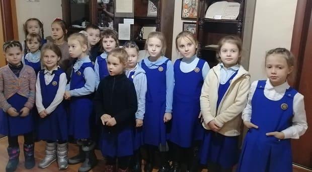 В дни памяти священномученика Сергия, архиепископа Елецкого в стенах епархиального музея прошли встречи с гостями