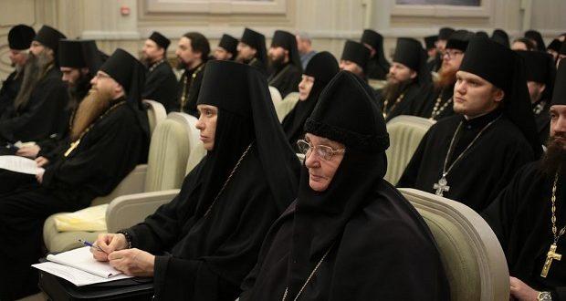 В Московском Сретенском монастыре прошло собрание ответственных за монастыри