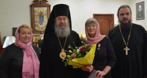 Владыка Максим поздравил епархиального древлехранителя с юбилеем