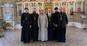 В Троицком храме п. Лев Толстой состоялось собрание благочиния