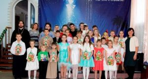Воскресные школы Чаплыгинского благочиния встретили Рождество Христово