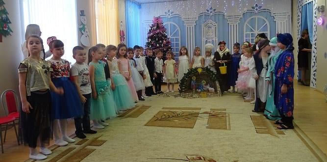 Рождественский концерт в Долгоруково